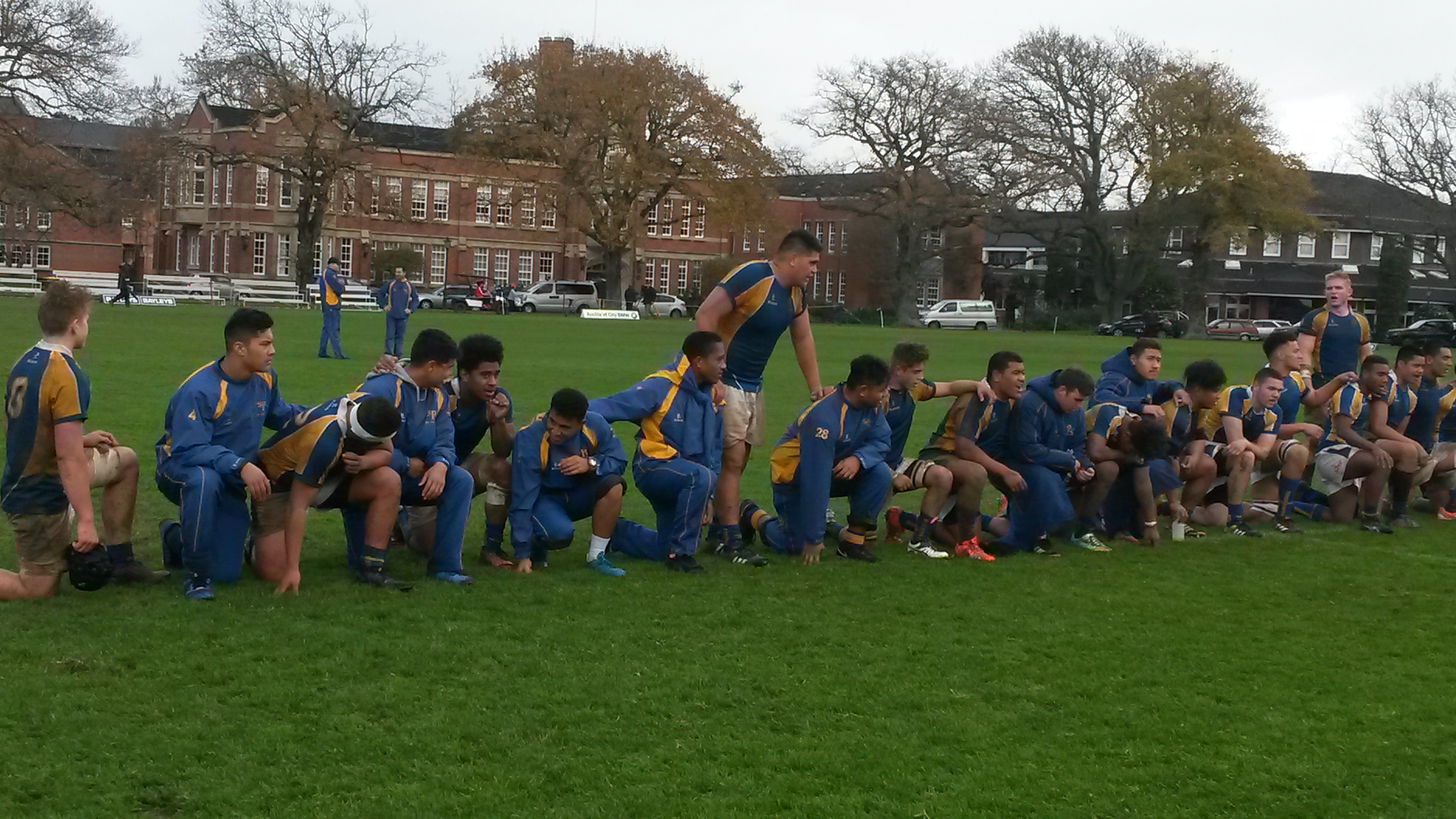 1st XV after victory ag Kings 13-8