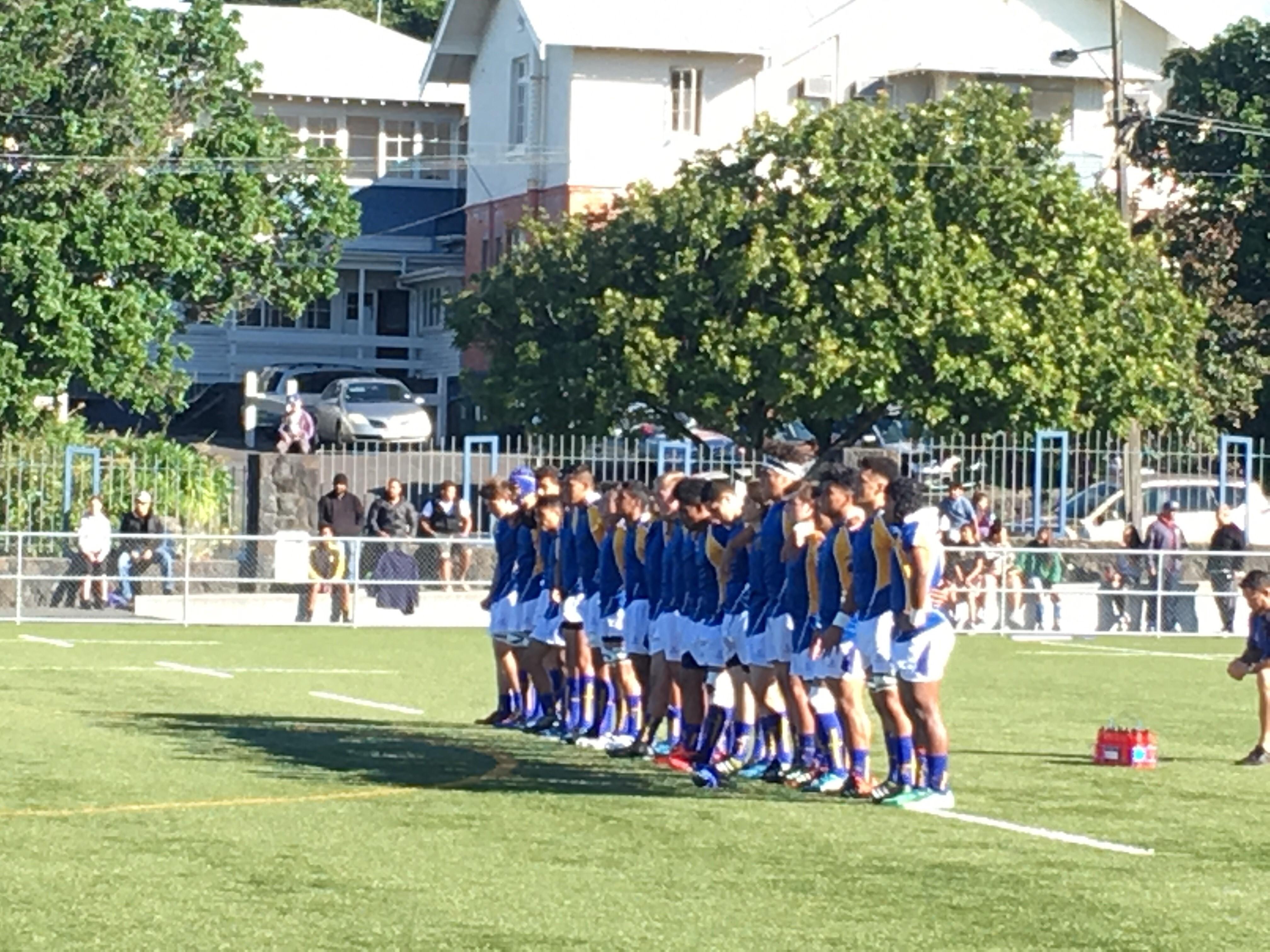 1st XV team