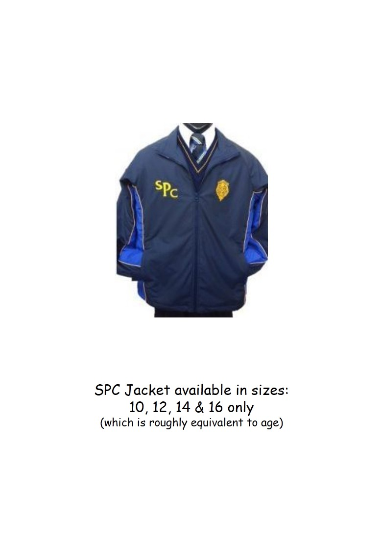 SPC Jacket with Royal Blue Sides